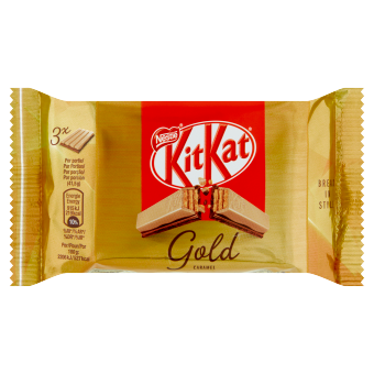 KITKAT 4 Finger Gold 3-pack | Nestlé Chocolade