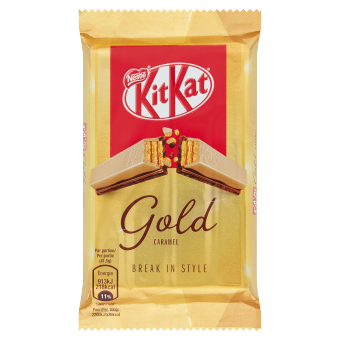 KITKAT 4 Finger Gold Single | Nestlé Chocolade